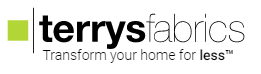 Terry's Fabrics transform your home for less logo and article